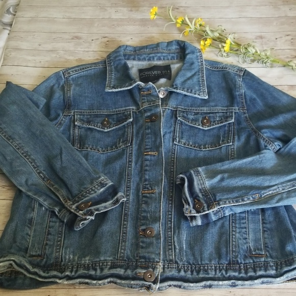 Forever 21 Jackets & Blazers - Forever21 Jean Jacket